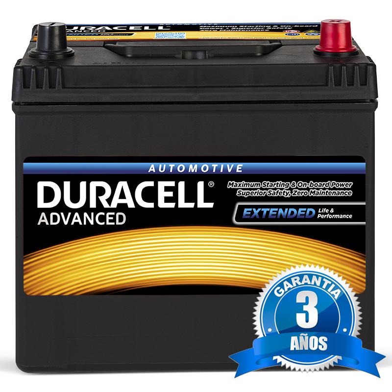 Batería Duracell coche 12V. 60Ah.