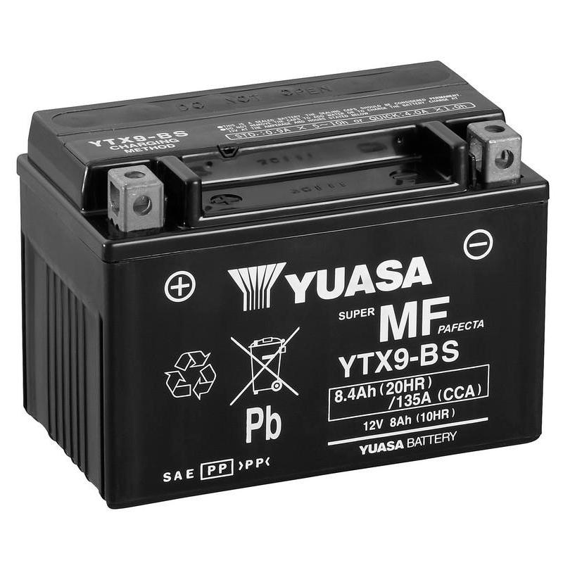 Batería de moto Yuasa barata
