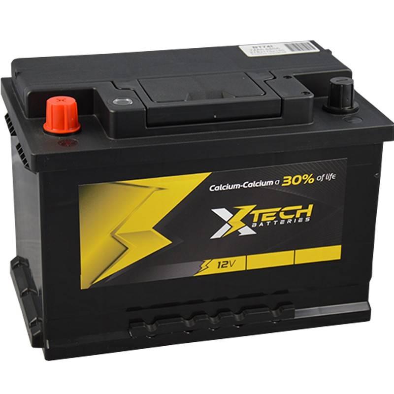 bater a xtech bt74i 12v 74ah 680a bater as para coche. Black Bedroom Furniture Sets. Home Design Ideas