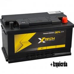 Batería Xtech BTF16 12V 80Ah.