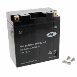 Batería Moto YB9L-A2 GEL JMT