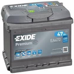 Batería Exide 12V. 47Ah. EA472