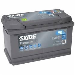 Batería Exide 12V. 90Ah. EA900