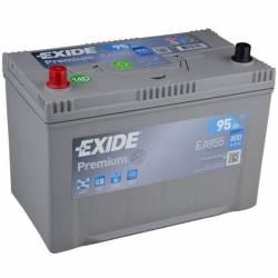 Batería Exide 12V. 95Ah. EA955