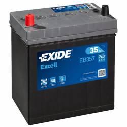 Batería Exide 12V. 35Ah. EB357