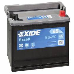 Batería Exide 12V. 45Ah. EB450