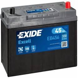 Batería Exide 12V. 45Ah. EB456