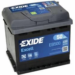 Batería Exide 12V. 50Ah. EB500