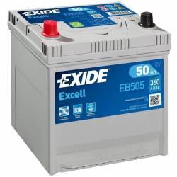 Batería Exide 12V. 50Ah. EB505