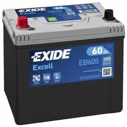 Batería Exide 12V. 60Ah. EB605
