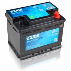 Batería Exide 12V. 60Ah. EK600