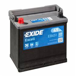 Batería Exide 12V. 45Ah. EB451