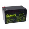 Batería cíclica Long AGM 12V. 12Ah. WP12-12B