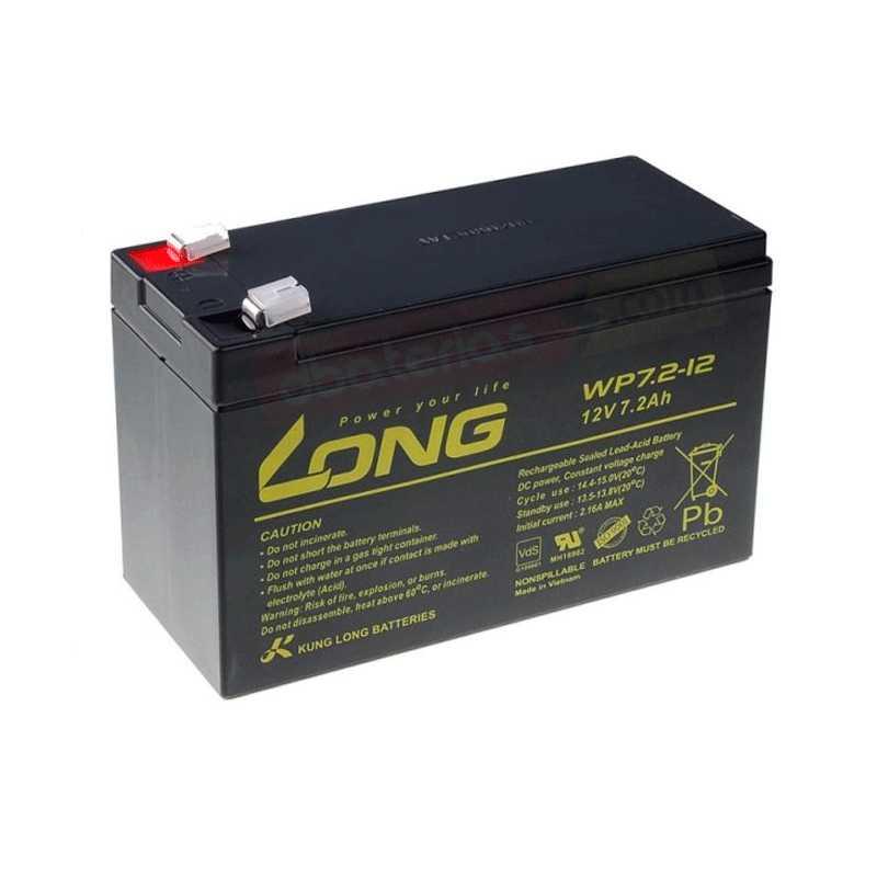 Batería 12v 7,2ah. LONG AGM