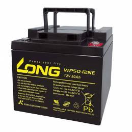 Batería LONG silla ruedas 12V. 50Ah.