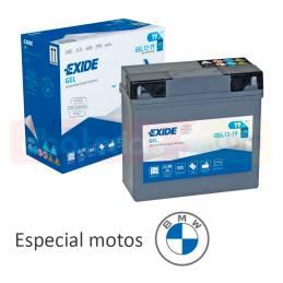 Batería Exide GEL moto BMW...