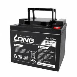 Batería de GEL para silla de ruedas eléctrica 50 amperios