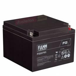 Batería FG22703 FIAMM 12V....
