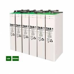Batería solar estacionaria 12V 650Ah. TAB los mejores precios