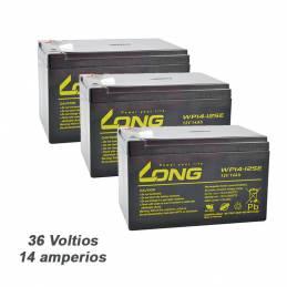 Batería 36V. 14ah. AGM LONG...