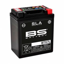 Batería YTX7L-BS BS battery SLA 113x70x130mm