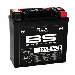 Batería 12N5.5-3B para Aprlia, Yamaha, Gilera,Vespa, etc..