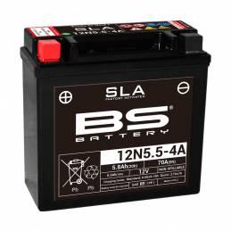 Batería sin mantenimiento 12N5.5-4A. BS Battery. dbaterias.com