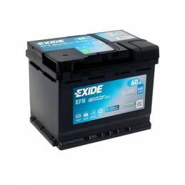 Batería Exide 12V. 60Ah. EL600