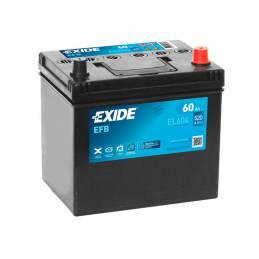 Batería EL604 exide EFB. los mejores precios en dbaterias.com