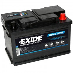 Batería Exide EP600 12V...