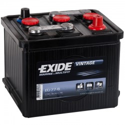 Batería Exide EU776 6V 77Ah...