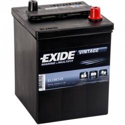 Batería Exide EU806 6V 80Ah...