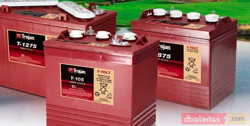 Os melhores preços de baterias TROJAN Portugal
