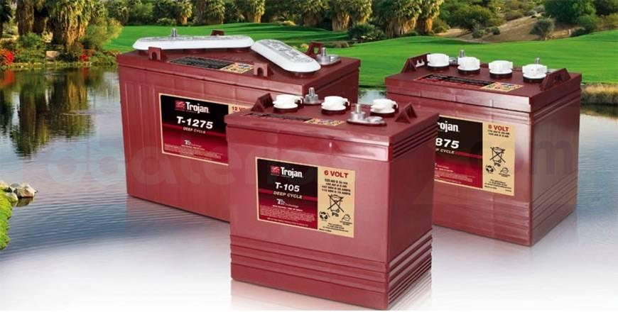 Los mejores precios en baterías TROJAN de España