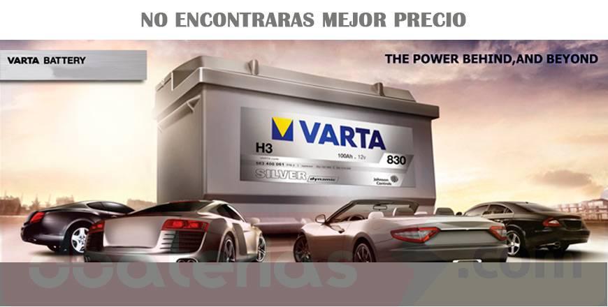 Los mejores precios en baterías VARTA de España